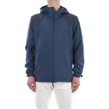 Abbigliamento Uomo Giubbotti Ciesse Piumini BADEN-P7B23X Impermeabile Uomo Blu Blu