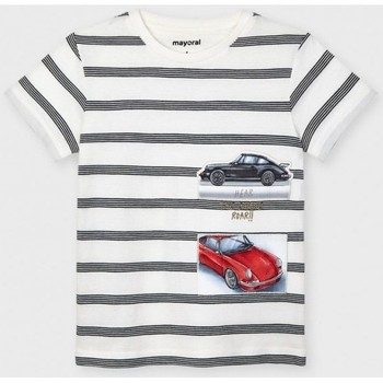 Abbigliamento Unisex bambino T-shirt maniche corte Mayoral ATRMPN-26645 Bianco