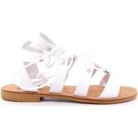 Scarpe Donna Sandali Keys 37 - K-4880A Bianco