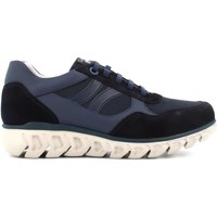 Scarpe Uomo Stivaletti CallagHan sneakers basse da uomo 12919 BLU Blu