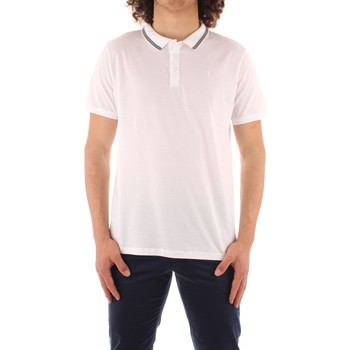 Abbigliamento Uomo Polo maniche corte Trussardi 52T00501 1T003602 BIANCO