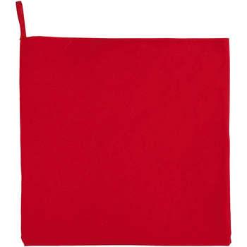 Casa Asciugamano e guanto esfoliante Sols ATOLL 50 ROJO Rojo