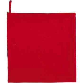 Casa Asciugamano e guanto esfoliante Sols ATOLL 70 ROJO Rojo