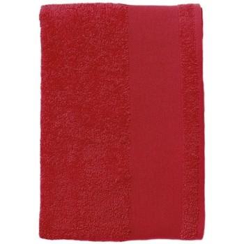 Casa Asciugamano e guanto esfoliante Sols BAYSIDE 100 Rojo Rojo