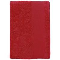 Casa Asciugamano e guanto esfoliante Sols BAYSIDE 70 Rojo Rojo