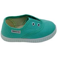 Scarpe Sneakers Sho.e.b. 76 8005BM7 ACQUAMARINA Verde