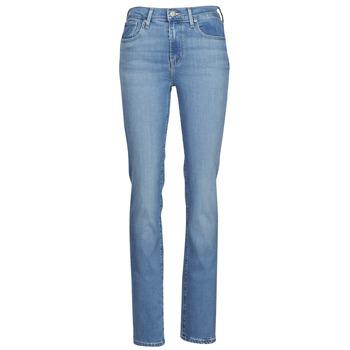 Abbigliamento Donna Jeans dritti Levi's 724 HIGH RISE STRAIGHT Blu