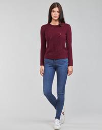 Abbigliamento Donna Jeans skynny Levi's 720 HIRISE SUPER SKINNY Blu