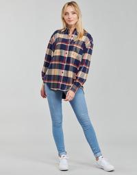 Abbigliamento Donna Jeans skynny Levi's 712 SKINNY Blu