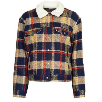 Abbigliamento Donna Giacche in jeans Levi's WOOL TRUCKER Multicolore
