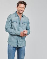 Abbigliamento Uomo Camicie maniche lunghe Levi's BARSTOW WESTERN STANDARD Blu