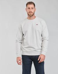 Abbigliamento Uomo Felpe Levi's NEW ORIGINAL CREW Grigio