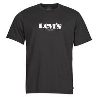 Abbigliamento Uomo T-shirt maniche corte Levi's SS RELAXED FIT TEE Nero