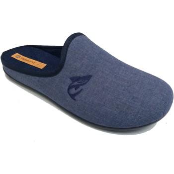 Scarpe Uomo Pantofole Tratti Di Donna DN51 BLU