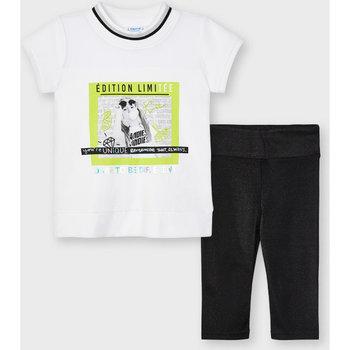Abbigliamento Bambina Completo Mayoral ATRMPN-26664 Nero