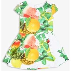 Abbigliamento Bambina Abiti corti Guess K1GK24WDV20 Bianco