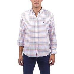 Abbigliamento Uomo Camicie maniche lunghe El Pulpo  Rosa
