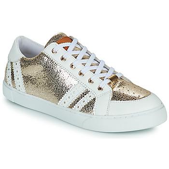 Scarpe Donna Sneakers basse Les Tropéziennes par M Belarbi SUZIE Oro / Bianco