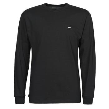 Abbigliamento Uomo T-shirts a maniche lunghe Vans OFF THE WALL CLASSIC LS Nero