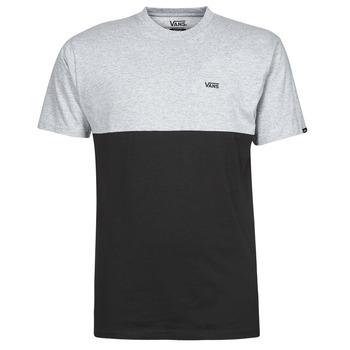 Abbigliamento Uomo T-shirt maniche corte Vans COLORBLOCK TEE Grigio / Nero