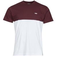 Abbigliamento Uomo T-shirt maniche corte Vans COLORBLOCK TEE Bianco