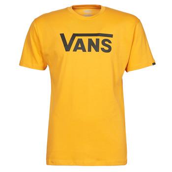 Abbigliamento Uomo T-shirt maniche corte Vans VANS CLASSIC Giallo / Nero