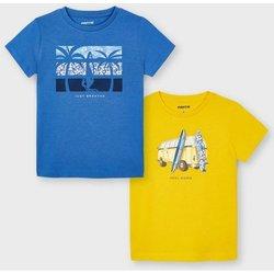 Abbigliamento Unisex bambino T-shirt maniche corte Mayoral ATRMPN-26677 Blu