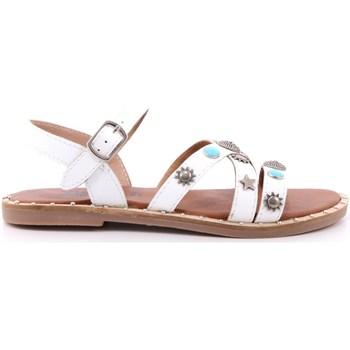 Scarpe Bambina Sandali Via 51 30 - STAR 4 Bianco