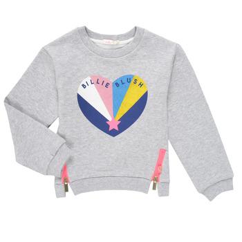 Abbigliamento Bambina Felpe Billieblush MARIELA Grigio