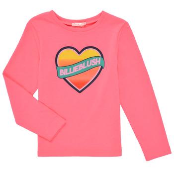 Abbigliamento Bambina T-shirts a maniche lunghe Billieblush DEKOU Rosa