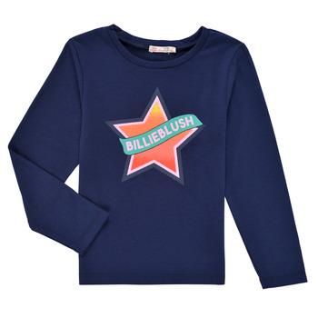 Abbigliamento Bambina T-shirts a maniche lunghe Billieblush DEKOU Marine