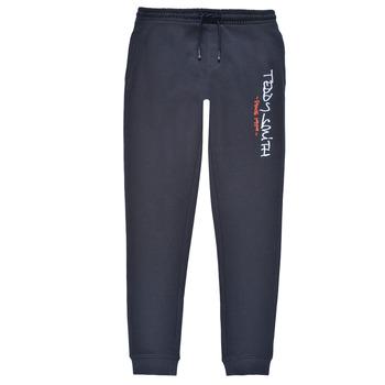 Abbigliamento Bambino Pantaloni da tuta Teddy Smith P-JOG 2 Marine