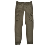 Abbigliamento Bambino Pantalone Cargo Teddy Smith BATTLE Kaki