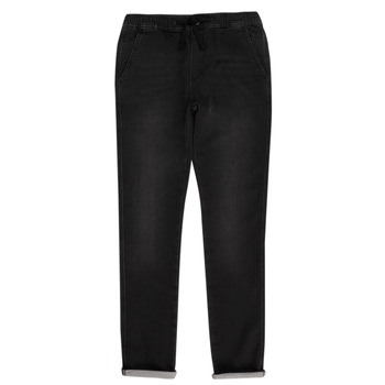Abbigliamento Bambino Pantaloni 5 tasche Teddy Smith JOGGER SWEAT Nero