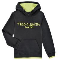 Abbigliamento Bambino Felpe Teddy Smith SICLASS HOODY Nero