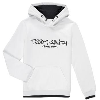 Abbigliamento Bambino Felpe Teddy Smith SICLASS HOODY Bianco
