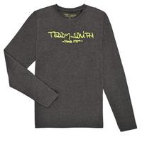 Abbigliamento Bambino T-shirts a maniche lunghe Teddy Smith TICLASS3 ML Grigio
