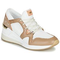Scarpe Donna Sneakers basse MICHAEL Michael Kors LIV Camel / Bianco