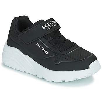 Scarpe Unisex bambino Sneakers basse Skechers UNO LITE Nero