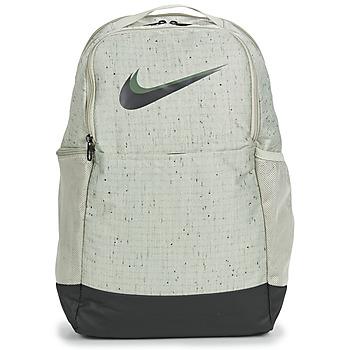 Borse Zaini Nike NIKE BRASILIA Grigio / Nero