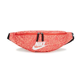 Borse Donna Marsupi Nike NK HERITAGE WSTPCK FA21 AOP2 Rosa / Nero / Bianco