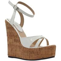 Scarpe Donna Sandali Kiara Shoes KHZ100 Bianco