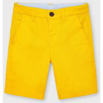 Abbigliamento Unisex bambino Shorts / Bermuda Mayoral ATRMPN-26684 Giallo