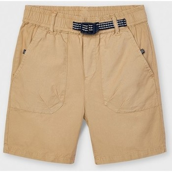 Abbigliamento Unisex bambino Shorts / Bermuda Mayoral ATRMPN-26686 Beige