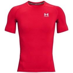 Abbigliamento Uomo T-shirt maniche corte Under Armour Heatgear Armour Rosso
