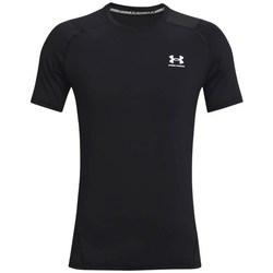 Abbigliamento Uomo T-shirt maniche corte Under Armour Heatgear Armour Fitted Nero