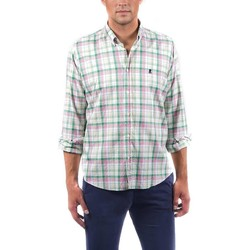 Abbigliamento Uomo Camicie maniche lunghe El Pulpo  Verde
