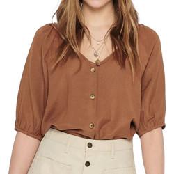 Abbigliamento Donna Top / Blusa Jacqueline De Yong 15204507 Marrone
