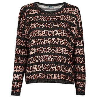 Abbigliamento Donna Maglioni Liu Jo WF1538 Leopard