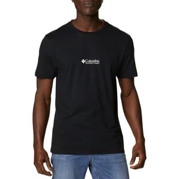 Abbigliamento Uomo T-shirt maniche corte Columbia Sportswear Csc Basic Logo T-Shirt Nero Nero